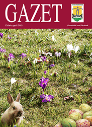 Gazet april 2019